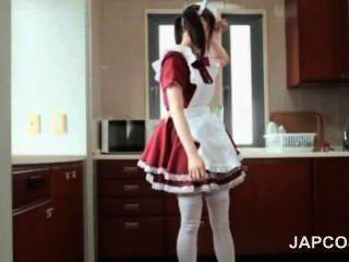 لطيف الآسيوية خادمة امض بعقب سكرتيرات يغوي رئيسها