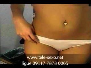 لطيف فاتنة titted على كاميرا ويب tele sexo.net 09117 7878 0065