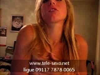 فاتنة شقراء الساخنة playng مع الثدي لها www.tele sexo.net 09117 7878 0065