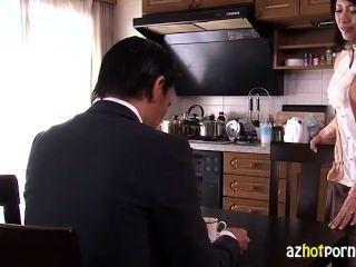 زوجة جميلة الآسيوية خيانة زوجها