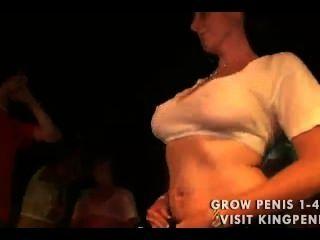 ر الرطب قميص titties