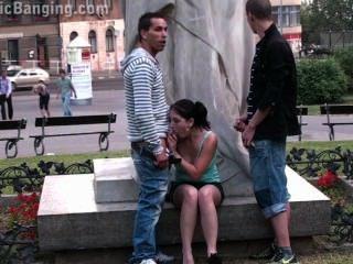 مراهقون الشارع العام الجنس العربدة من قبل الشهير تمثال جزء 2