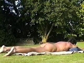 حمامات الشمس الخارجي