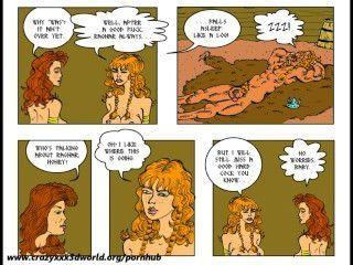 فكاهي 2D: الملحمة قرنية