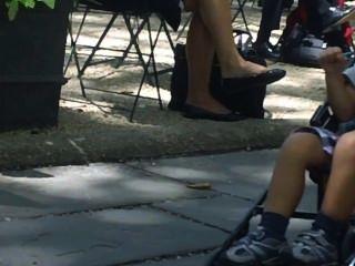 صريحة قدم shoeplay التعلق والساقين جزء واحد
