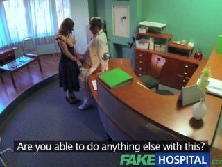 الأطباء fakehospital compulasory فحص طبي يجعل hospita مؤقتة مفلس