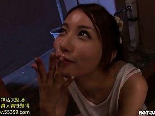 مارس الجنس الفتيات اليابانية امرأة ناضجة مغر في room.avi السرير