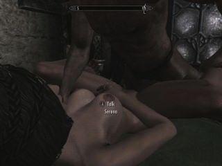 الجنس skyrim مع serana